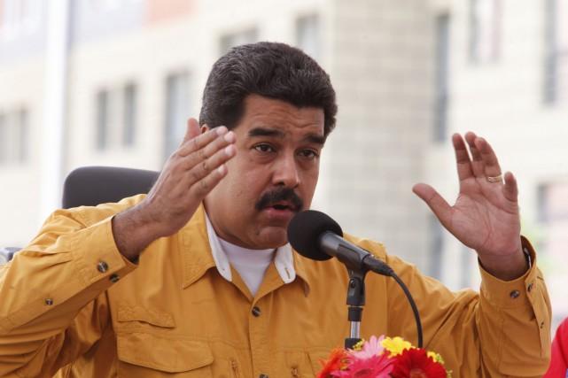 Le président vénézuélien, Nicolas Maduro.... (Photo Reuters)