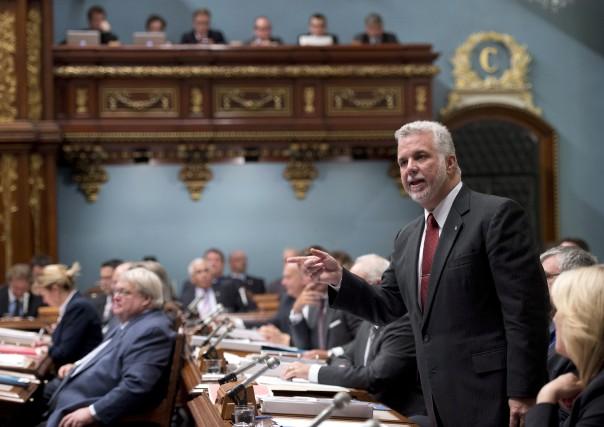 Quoi qu'en disent les libéraux, l'État québécois ne... (Photo Jacques Boissinot, La Presse Canadienne)