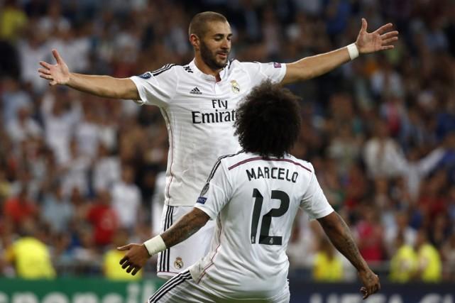 Karim Benzema a complété la marque à la... (Photo: Reuters)