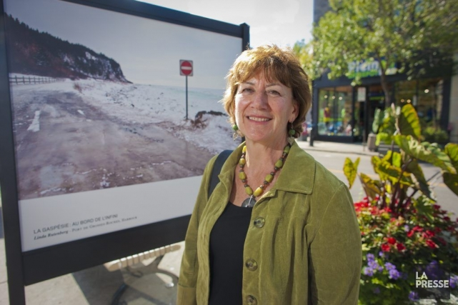 La Montréalaise Linda Rutenberg, qui abhorre l'hiver dans... (Photo: André Pichette, La Presse)