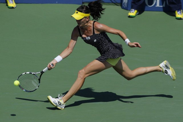 Agnieszka Radwanska, championne en titre du tournoi, affrontera... (PHOTO KENA BETANCUR, ARCHIVES AFP)