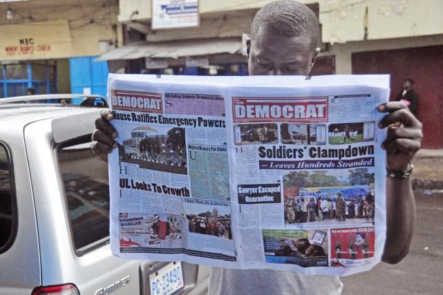 Quotidien fermé, journalistes arrêtés ou harcelés par la... (PHOTO AABBAS DULLEH, ARCHIVES AP)