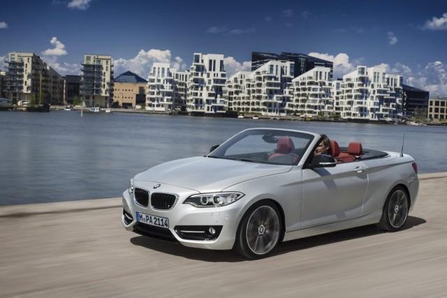 La nouvelle BMW Série 2 décapotable... (Photo fournie par BMW)