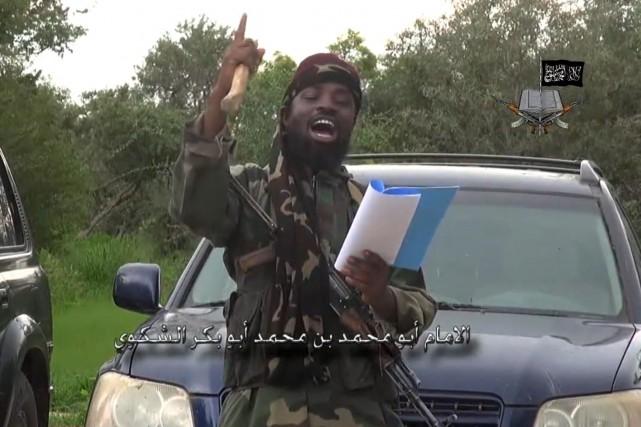 Abubakar Shekau, leader du Boko Haram.... (PHOTO ARCHIVES AFP)