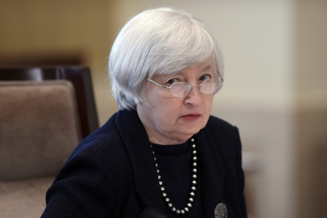 La directrice de la Réserve fédérale américaine, Janet... (Photo Susan Walsh, AP)