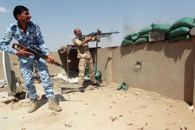 Les environs de Bagdad sont devenus ces derniers... (Photo: AFP)