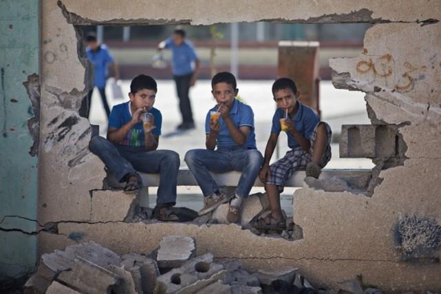 Le Hamas et Israël ont conclu le 26... (Photo: AP)