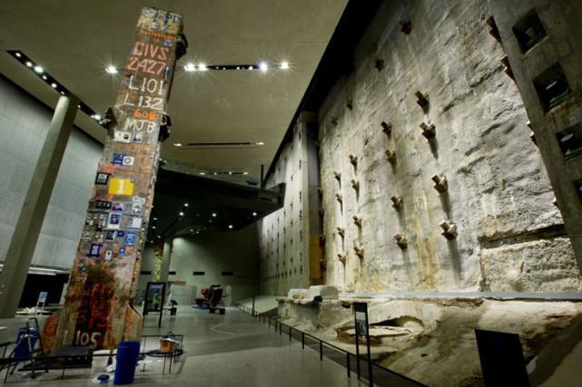 Le musée souterrain, sorte de crypte géante construite... (Photo: AP)