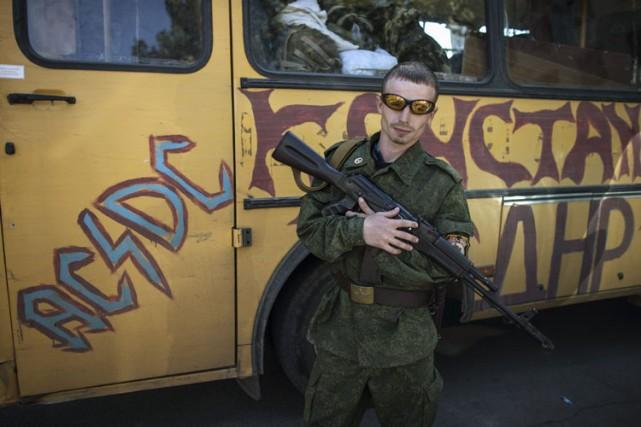 Pour l'heure, les séparatistes de Donetsk et de... (Photo: Reuters)
