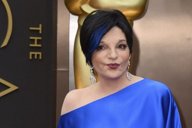 Liza Minnelli aux Oscars en mars dernier.... (Photo: archives AFP)