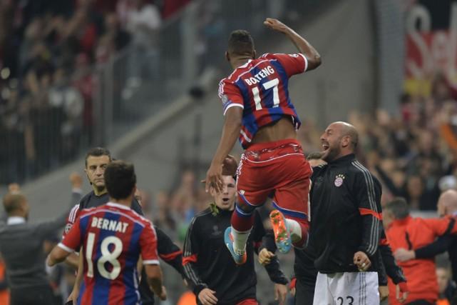 JeromeBoateng a inscrit le seul but du match.... (Photo: AFP)