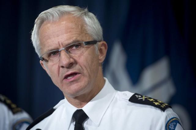 Le chef du Service de police de la... (PHOTO PAUL CHIASSON, ARCHIVES LA PRESSE CANADIENNE)