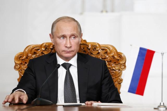 «Si je le voulais, des troupes russes pourraient... (PHOTO B.RENTSENDORJ, ARCHIVES REUTERS)