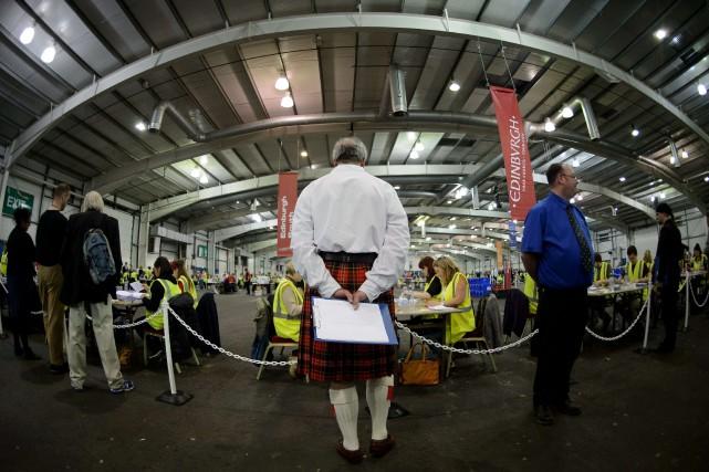De Glasgow à Édimbourg en passant par une... (PHOTO LESLEY MARTIN, AFP)