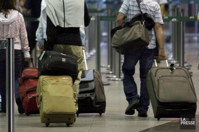 La nouvelle politique d'Air Canada s'appliquera aux clients... (Photo Patrick Sanfaçon, archives La Presse)
