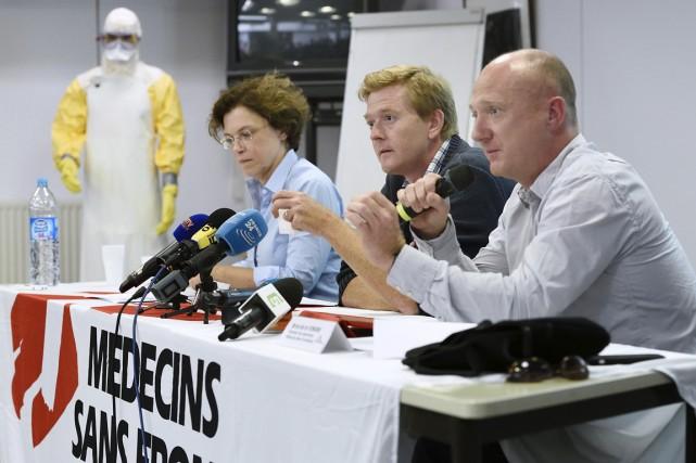 L'organisation a demandé que l'évacuation de la Française... (PHOTO ERIC FEFERBERG, AP)
