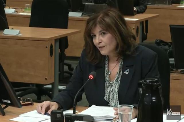 Diane Lemieux... (PHOTO TIRÉE D'UNE VIDÉO)