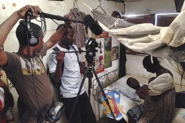 On retrouve deux écoles de cinéma à Jacmel,... (Photo: fournie par Maxence Bradley)