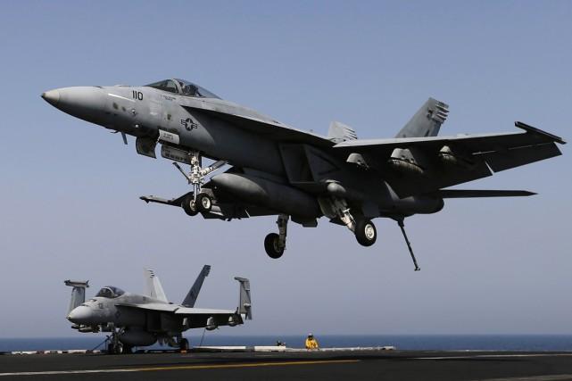 La frappe aérienne s'est produite au cours des... (PHOTO HAMAD I MOHAMMED, ARCHIVES REUTERS)