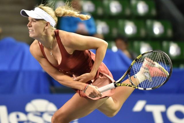Caroline Wozniacki... (Photo Kazuhiro Nogi, AFP)