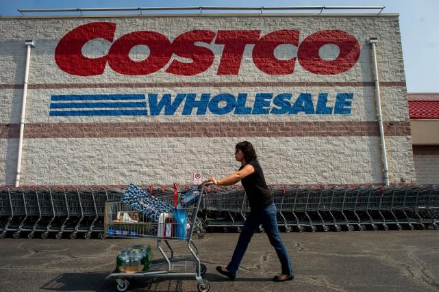 Le détaillant Costco Canada changera de partenaire de cartes de crédit à la fin... (Photo archives Bloomberg)