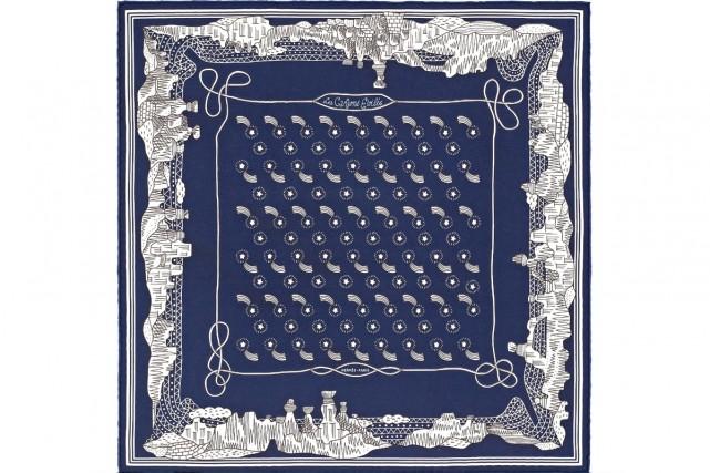 Un site de vente en ligne pour les carrés de soie Hermès   Mode 35a6ddca8a1