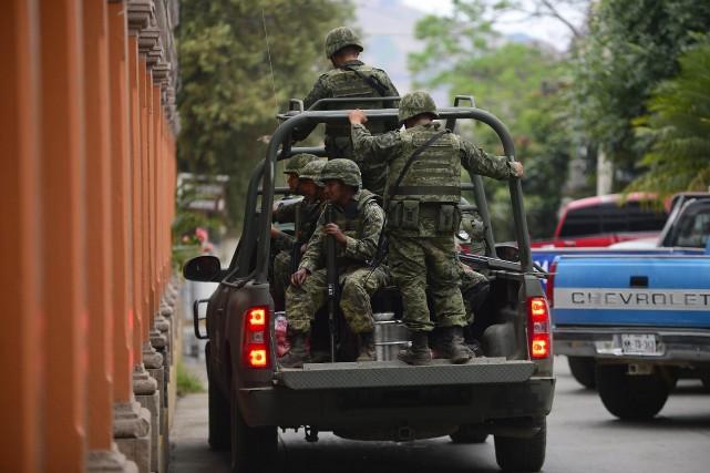 Un responsable du ministère mexicain de la Justice... (Photo archives AFP)