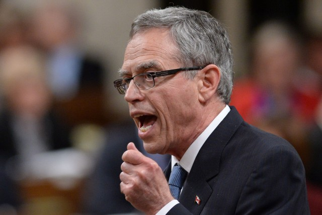 Le ministre des Finances du Canada, Joe Oliver.... (Photo Sean Kilpatrick, La Presse Canadienne)