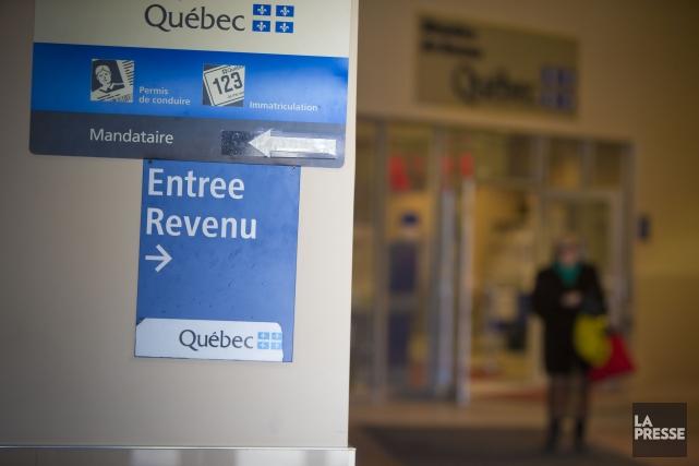 Revenu Québec, dont le Protecteur avait déjà dénoncé... (Photo André Pichette, archives La Presse)