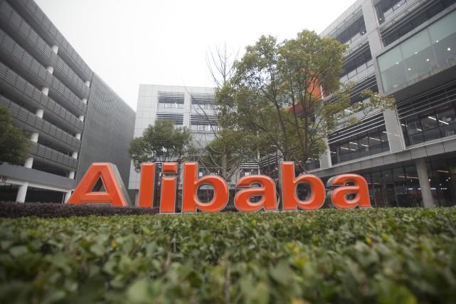 La croissance du géant chinois de la vente sur internet Alibaba (BABA)... (Photo archives Bloomberg)