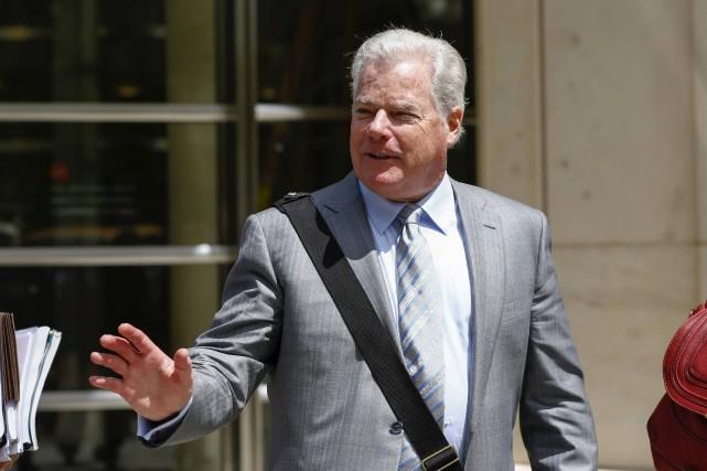 Shand Stephens, l'avocat représentant Arab Bank lors du... (Photo Eduardo Munoz, Reuters)