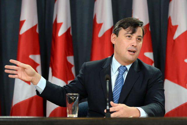 Le député conservateur Michael Chong.... (Photo archives La Presse Canadienne)