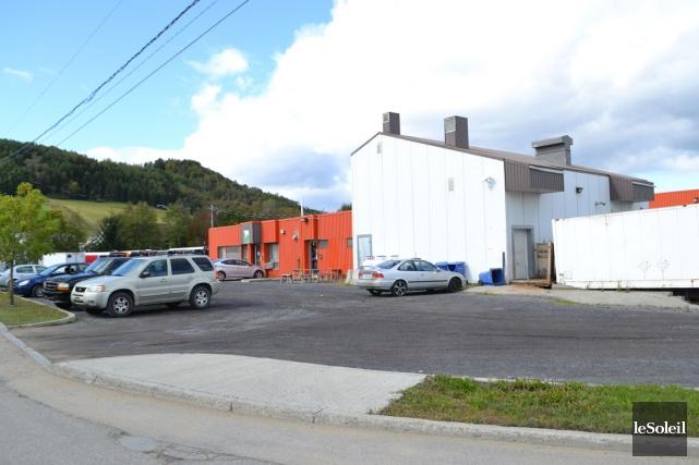 L'abattoir de Veau Charlevoix, au parc industriel de... (Photothèque Le Soleil)