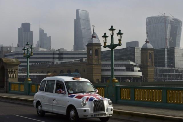 La City de Londres (investisseurs, grandes entreprises, médias... (PHOTO TOBY MELVILLE, REUTERS)