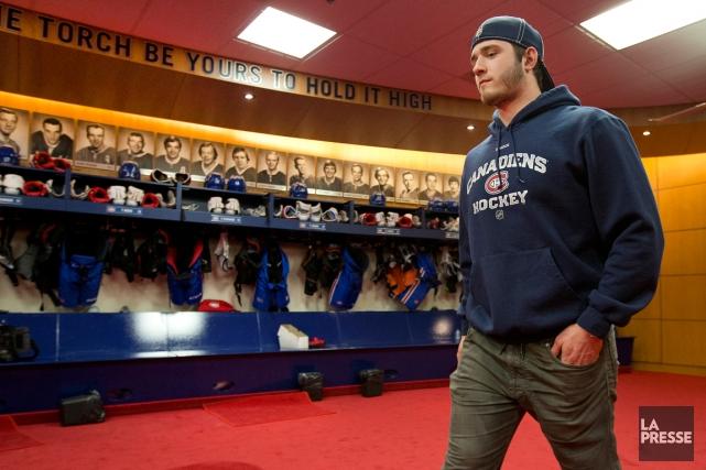Après avoir goûté aux joies du hockey à... (Photo Robert Skinner, archives La Presse)