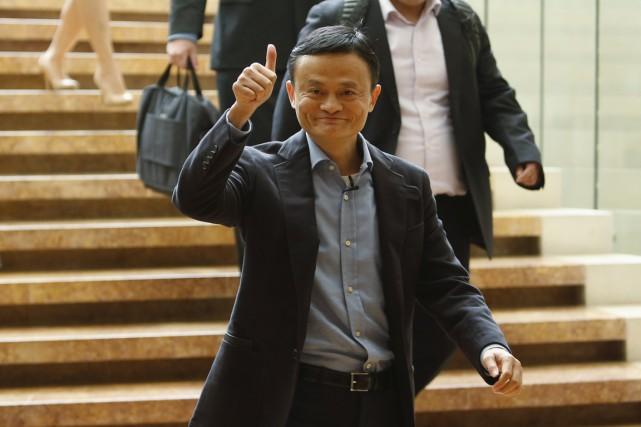 Alibaba a été fondée en 1999 par un... (Photo Edgar Su, REUTERS)