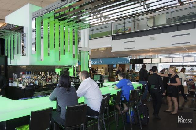 V-Bar, où prendre un verre, même si on... (Photo: Édouard Plante-Fréchette, La Presse)