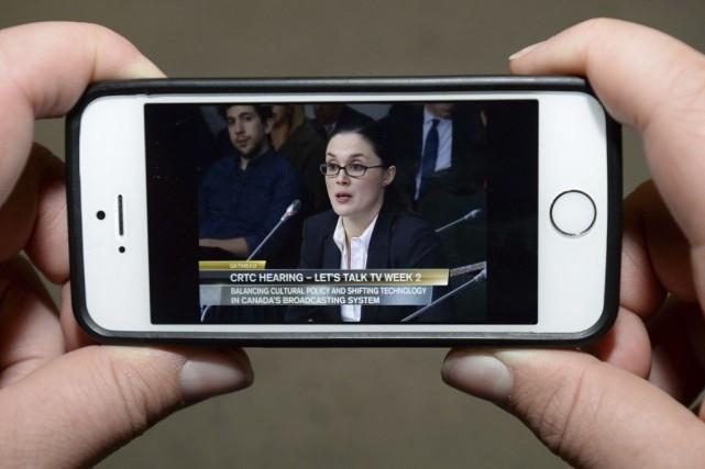Corie Wright, directrice des politiques publiques globales de... (PHOTO LA PRESSE CANADIENNE)