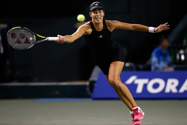 Ana Ivanovic... (Photo Toru Hanai, Reuters)
