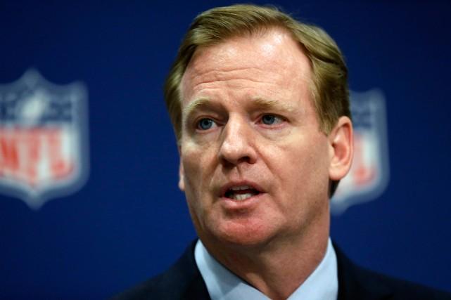 Le commissaire de la NFL, Roger Goodell.... (Photo David Goldman, archives AP)