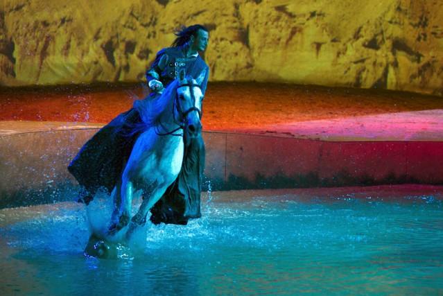 Deux employés québécois de la troupe de cirque équestre Cavalia auraient été... (Photo fournie par Cavalia)