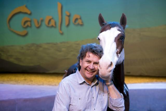 Normand Latourelle, président fondateur de Cavalia et de... (Photo fournie par Cavalia)
