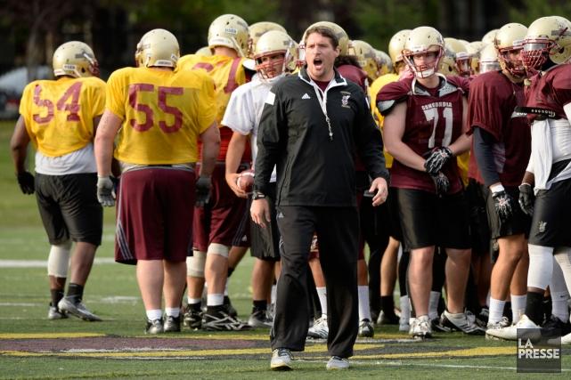 Mickey Donovan est seulement le cinquième entraîneur-chef des... (Photo Bernard Brault, La Presse)