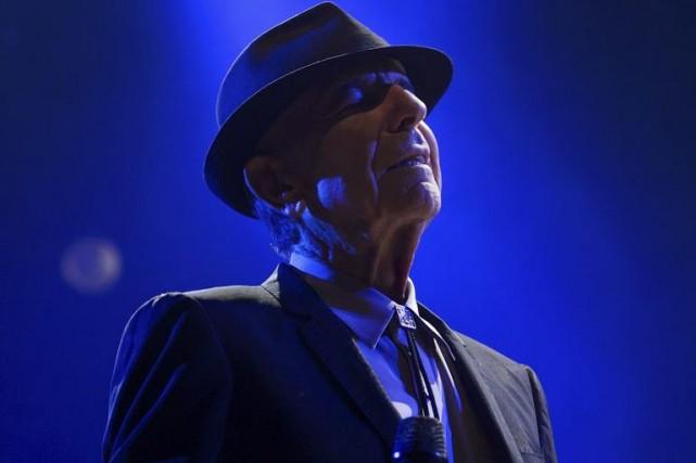 Leonard Cohen... (Archives AFP)
