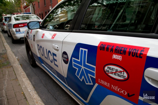 La décision qui devait forcer les policiers montréalais à donner des... (PHOTO ALAIN ROBERGE, ARCHIVES LA PRESSE)
