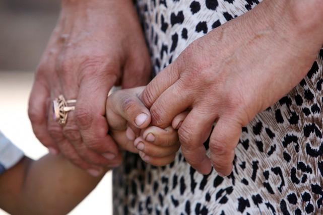 Marie-Josée Audet et David Villeneuve, tous deux originaires de la... (PHOTO FOURNIE PAR L'UNICEF)