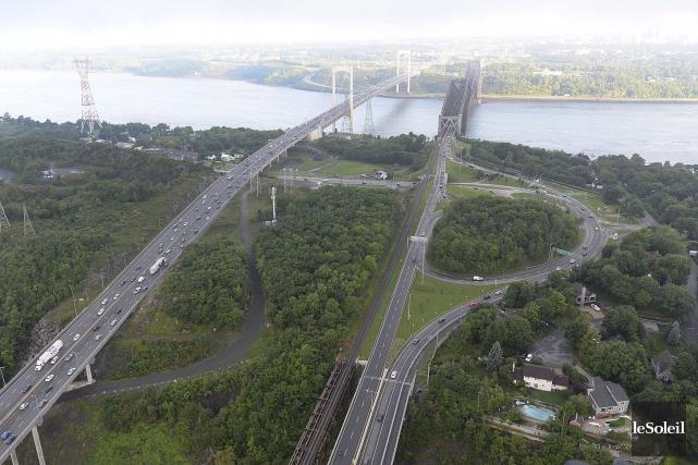 Le secteur de l'entrée des ponts... (Photothèque Le Soleil, Patrice Laroche)