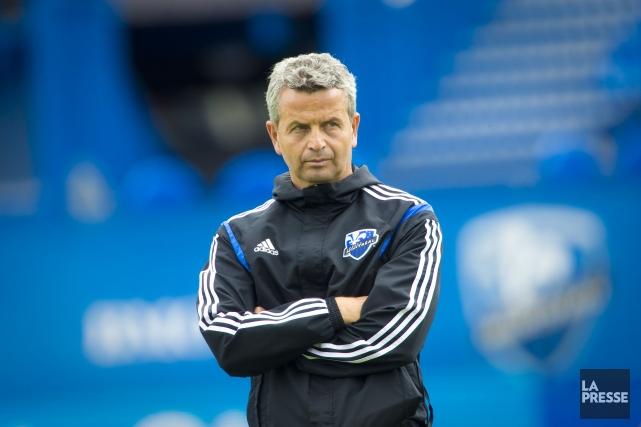 L'entraîneur de l'Impact de Montréal, Frank Klopas.... (Photo André Pichette, La Presse)