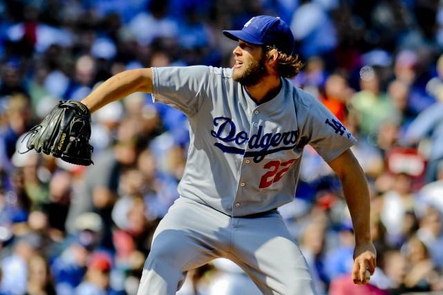 Le lanceur des Dodgers Clayton Kershaw est le... (Photo Matt Marton, USA Today)