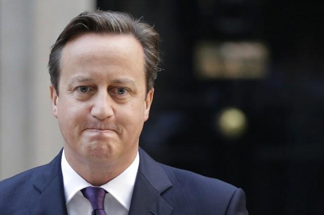 M.Cameron a de nouveau assuré que le Parlement... (PHOTO LEFTERIS PITARAKIS, AP)